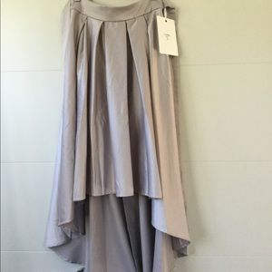 Indikah Skirts - Indikah Hi-Low satin skirt